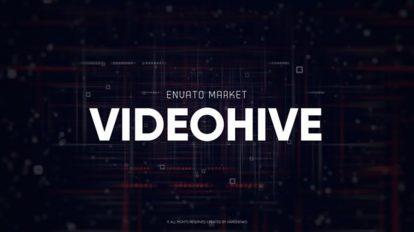 پروژه افترافکت نمایش لوگو با افکت گلیچ Logo Reveal Digital Glitch
