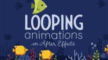 آموزش ساخت انیمیشن لوپ در افترافکت Looping Animated Scenes