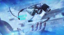 پروژه افترافکت اسلایدشو هایتک پزشکی Medical High-Tech Slideshow