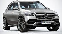 مدل سه بعدی خودرو مرسدس بنز Mercedes Benz 2020