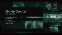 پروژه افترافکت افتتاحیه فیلم Movie Opener