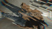 پروژه افترافکت افکت مولتی اسکوپ Multiscope for After Effects