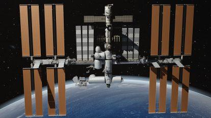 مدل سه بعدی ایستگاه فضایی ناسا Nasa International Space Station