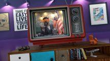پروژه افترافکت افتتاحیه یوتیوب با تلویزیون قدیمی Old TV Youtube Opener