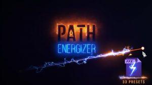 مجموعه پریست افترافکت ساخت مسیر انرژی Path Energizer