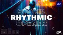 پروژه افترافکت افتتاحیه ریتمیک Rhythmic Opener