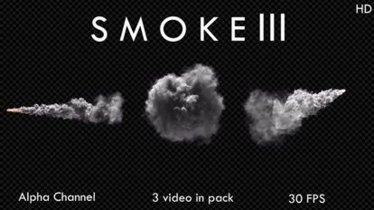 مجموعه فوتیج دود Smoke III
