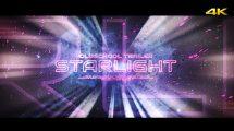 پروژه افترافکت تریلر Starlight Trailer Opener