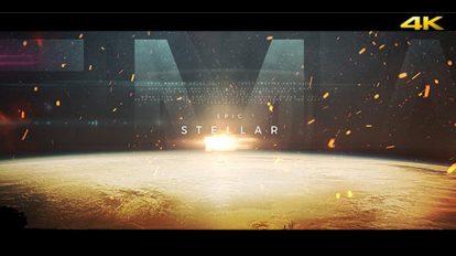پروژه افترافکت تریلر حماسی Stellar Epic Trailer