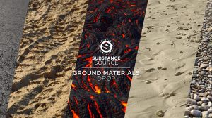 مجموعه متریال سطح زمین Substance Source Ground Materials