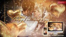 پروژه افترافکت افتتاحیه ولنتاین Valentines Day