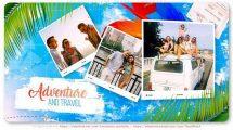 پروژه افترافکت اسلایدشو سفر Adventure and Travel Slideshow