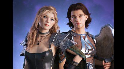 مجموعه مدل سه بعدی قهرمان حماسی Age of Heroes Bundle