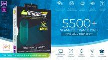پروژه افترافکت مجموعه ترانزیشن Ultimate Transitions Pack