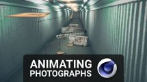 آموزش انیمیشن عکس با سینمافوردی Animating Photographs with Cinema 4D