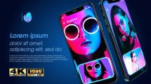 پروژه افترافکت تیزر تبلیغاتی اپلیکیشن App Rage Promo