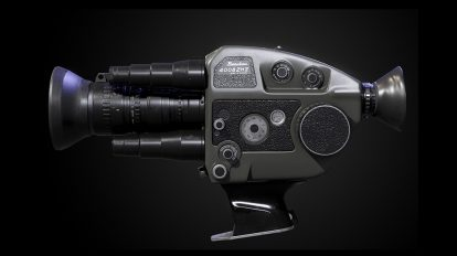 مدل سه بعدی دوربین هشت میلیمتری Beaulieu 4008 ZM II Super 8