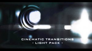 مجموعه فوتیج افکت نور سینمایی Cinematic Light Transitions Pack