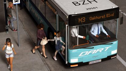 مدل سه بعدی اتوبوس شهری City Bus
