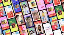 پروژه افترافکت استوری اینستاگرام رنگارنگ Colorful Stories Pack