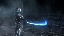 پروژه افترافکت نمایش لوگو گیمینگ Cyber Warrior Gaming Logo
