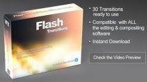 مجموعه فوتیج افکت ترانزیشن نور Flash Transitions