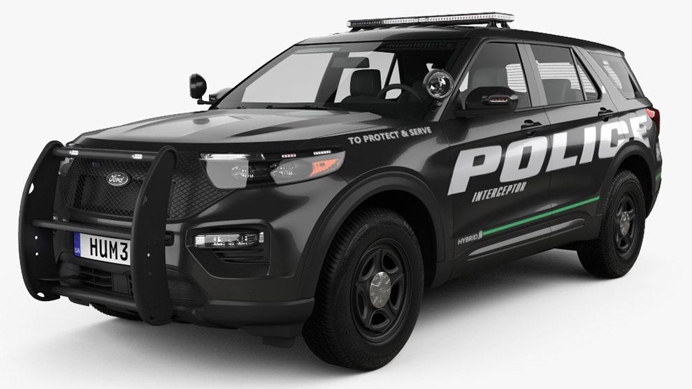 مدل سه بعدی خودرو فورد پلیس Ford V8 Super Deluxe
