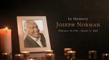 پروژه افترافکت سالگرد ترحیم Funeral Memorial