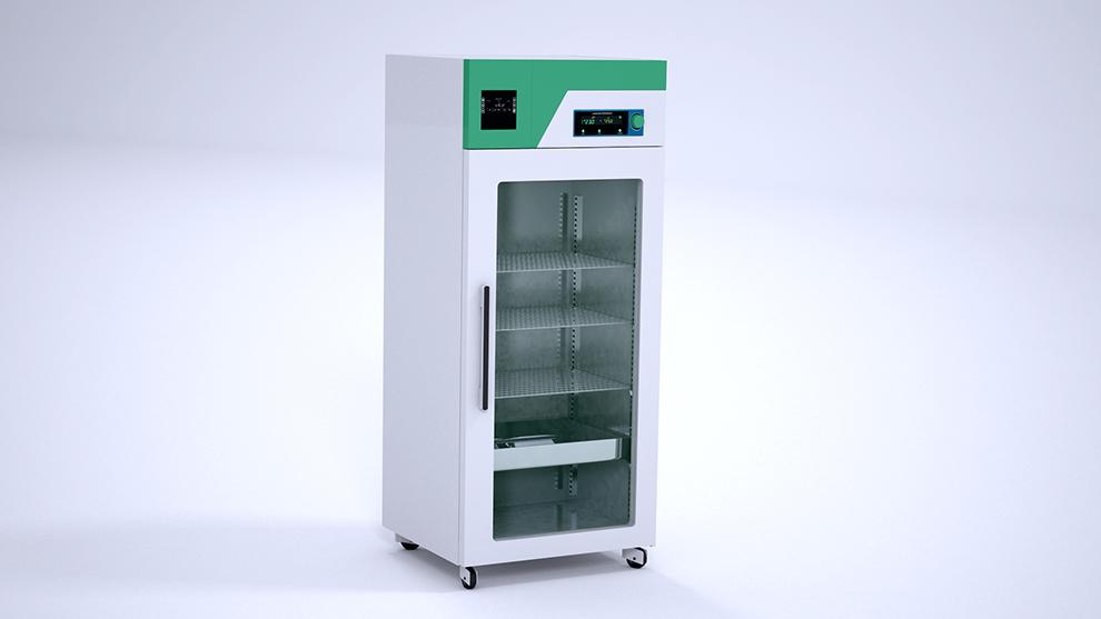 مدل سه بعدی یخچال آزمایشگاه Laboratory Refrigerator