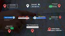 پروژه افترافکت نمایش متن موقعیت Location Titles