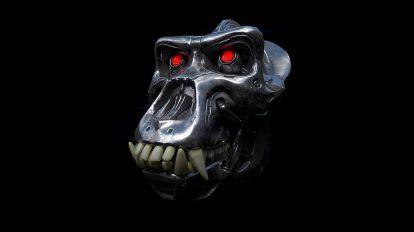 آموزش ساخت جمجمه مکانیکی در زیبراش Mechanical Skull