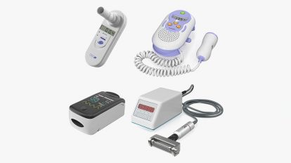 مجموعه مدل سه بعدی تجهیزات پزشکی Medical Devices