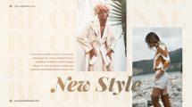 پروژه افترافکت تیزر تبلیغاتی فشن مینیمال Minimal Fashion Promo