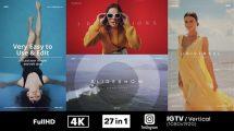 پروژه افترافکت مجموعه اسلایدشو مینیمال Minimal Promo Slideshows Pack