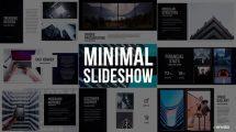 پروژه افترافکت اسلایدشو مینیمال Minimal Slideshow