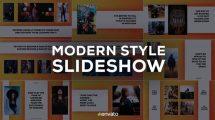 پروژه افترافکت اسلایدشو مدرن Modern Style Slideshow
