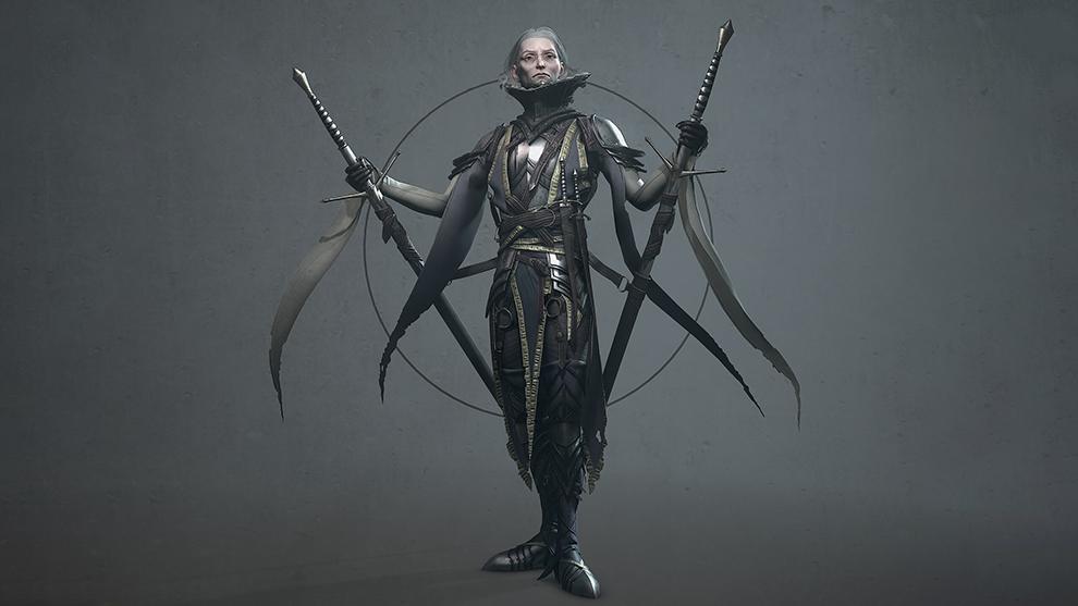 مدل سه بعدی کاراکتر افسانه ای Mordred