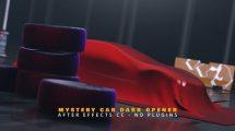 پروژه افترافکت نمایش لوگو Mystery Car Dark Opener