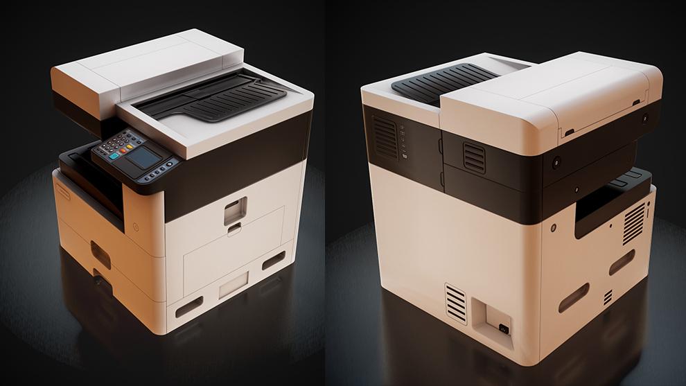 مدل سه بعدی پرینتر Office Printer