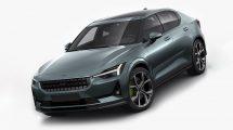 مدل سه بعدی خودرو پولستار Polestar 2 2020