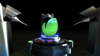 پروژه افترافکت نمایش لوگو با بازوی رباتیکی Robotic Arm Logo Reveal