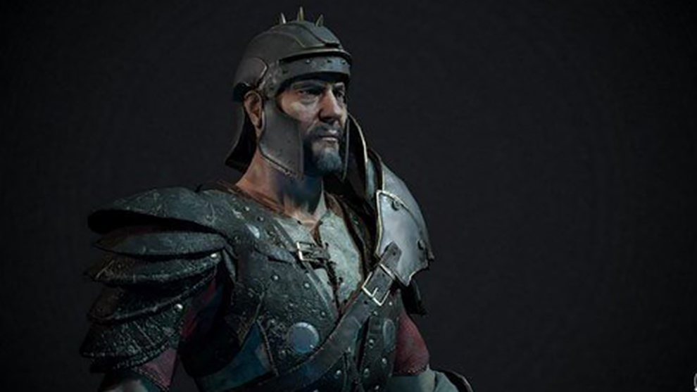 مدل سه بعدی سرباز رومی Roman Soldier