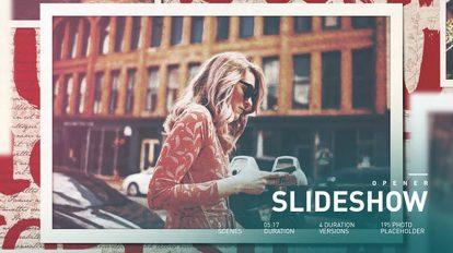 پروژه افترافکت اسلایدشو عاشقانه Romantic Intro Slideshow