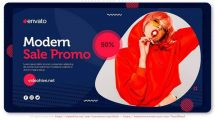 پروژه افترافکت تیزر تبلیغاتی فروش ویژه فصل Season Sale Promo