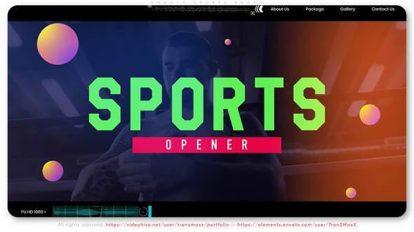 پروژه افترافکت تیزر تبلیغاتی ورزشی Smooth Sports Promo