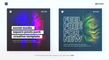 پروژه افترافکت مجموعه پست شبکه اجتماعی Social Media Posts Pack 2