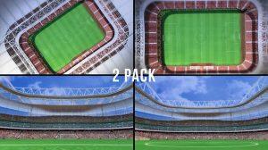 فوتیج موشن گرافیک استادیوم فوتبال Stadium 1