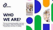 پروژه افترافکت پرزنتیشن استارتاپ Start-Up Presentation