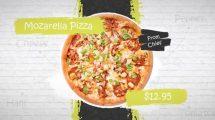 پروژه افترافکت تیزر تبلیغاتی غذا Street Food Promo