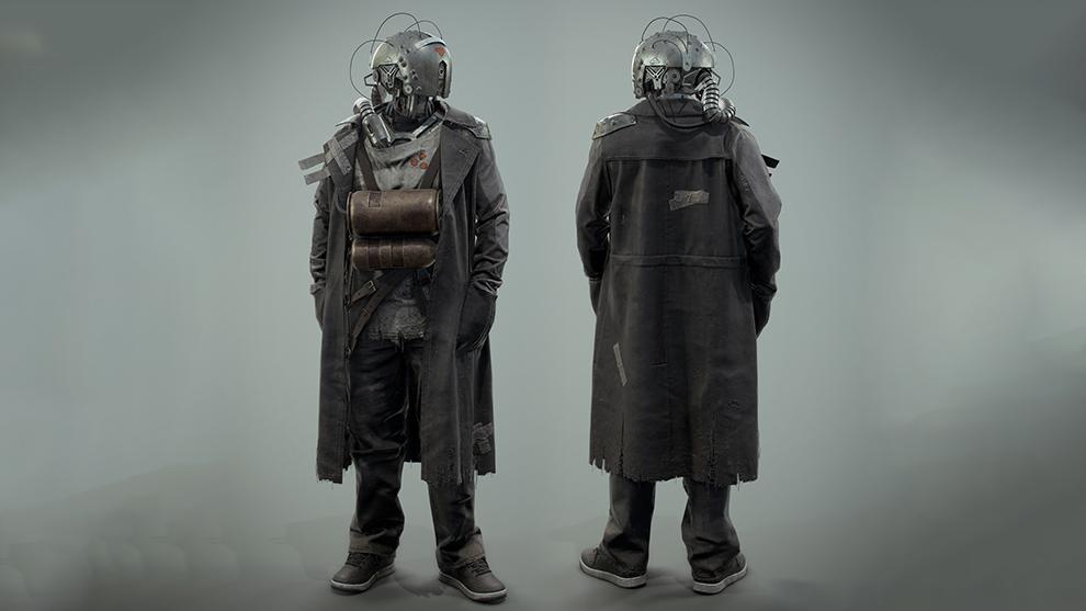 مدل سه بعدی سایبورگ Survivor Cyborg
